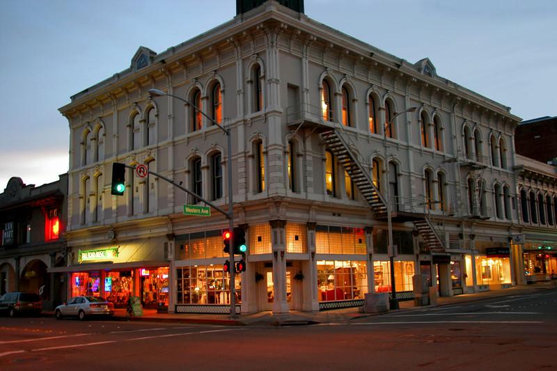 Mason Building in Petaluma