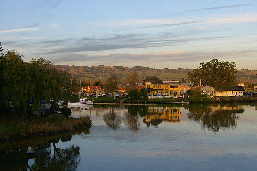 The River House on the Petaluma River Basin