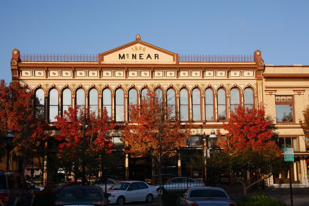 1886 McNear Building Petaluma CA.
