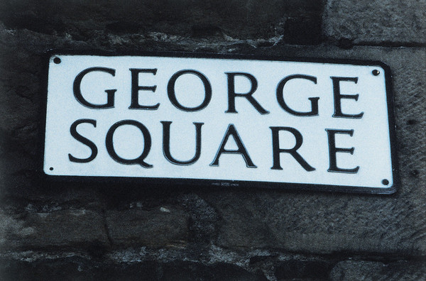 George Square street sign