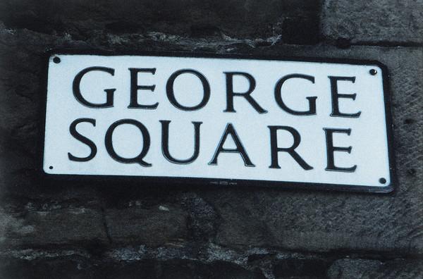 George Square street sign
