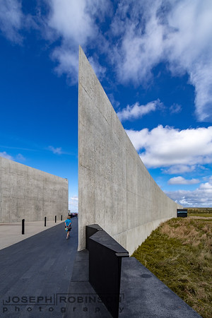 This walkway marks the final path of Flight 93.