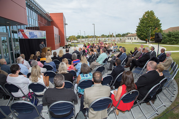 Wall West Ribbon Cutting - Sept. 2017