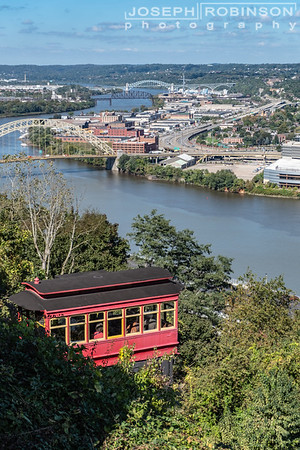 The Historic Duquesne Incline Rail
