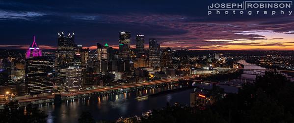 Pre-dawn Pittsburgh
