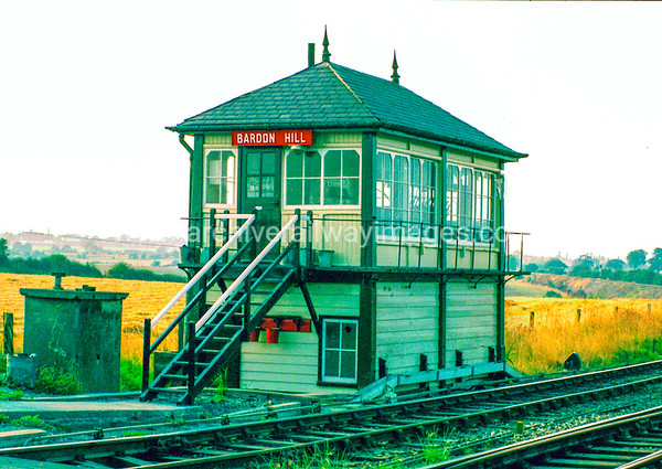 Bardon Hill Signal Box 27/8/83