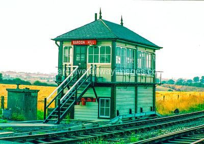 Bardon Hill Signal Box 27/8/83