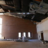 EARLY CONSTRUCTION: The Thomas DixonLovely Ballroom undergoing renovation. New and freshly wrapped ductwork above.