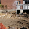 FOUNDATION WORK: West side addition, looking at the west side of the UC from the Levermore Hall side.