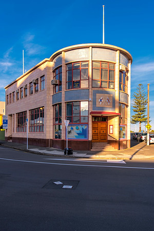 Building, Napier, New Zealand