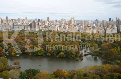 Over Looking Central Park in New York