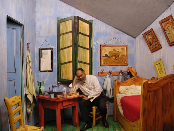 Self-Portrait in Van Gogh's Room at Arles