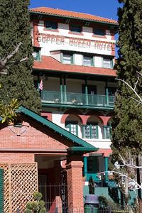 Copper Queen Hotel in Bisbee, AZ