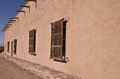 Fort Leaton in Presidio, TX.