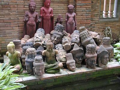 Heads of Shiva
