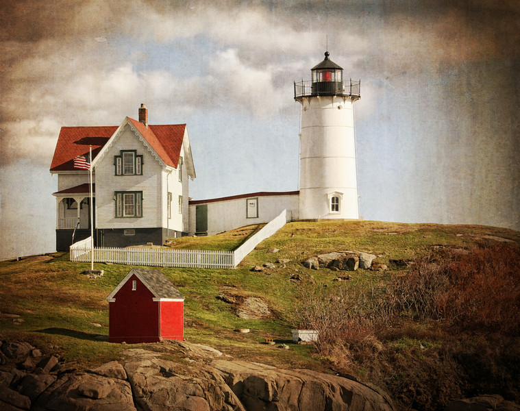 Light House in York, Maine