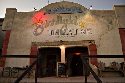 Starlight Theatre Restaurant and Bar, Terlingua, TX.