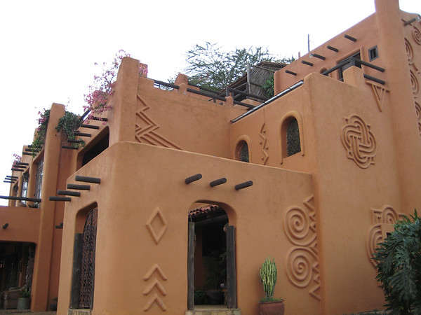 Detail of Alan's House, Said To Be The Most Photographed House in Africa