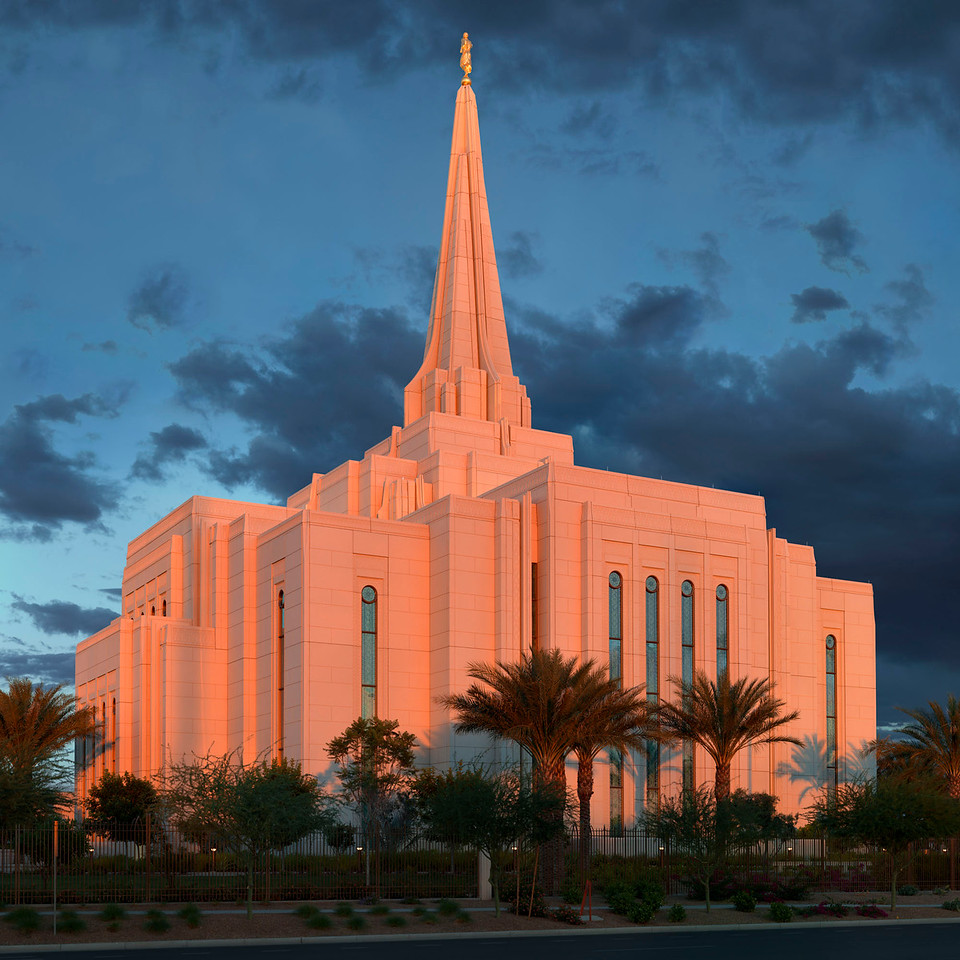 LDS Temple Gilbert 2015