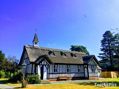 All Saints Anglican Church in Little Stretton, Shropshire
