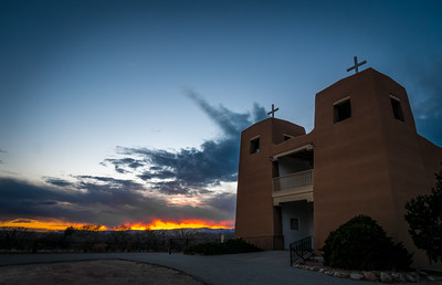 Sunset - Sacred Heart Church