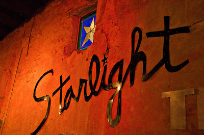 Starlight Theatre Restaurante and Bar, Terlingua, TX.