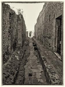 Alley in Pompeii