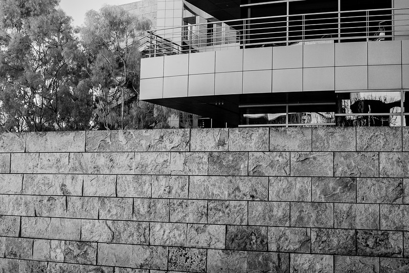 Getty Center shot with infrared modified Canon 40D.