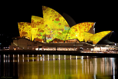 "Sydney Opera House - Vivid Sydney Festival ""Lighting the Sails"" May 26, 2009"