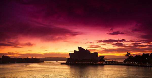 Dawn Breaks - Sydney Opera House