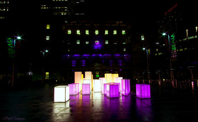 Vivid Sydney Festival, Circular Quay.