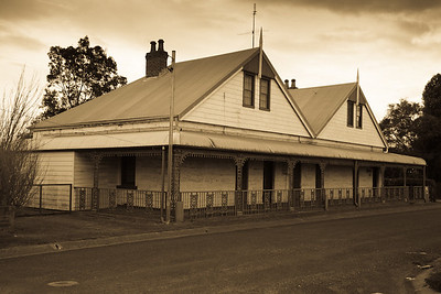 Old historic building, near Morpeth, NSW