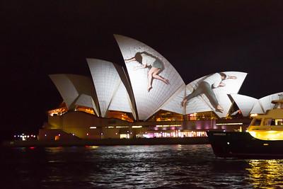 Vivid Sydney 2012. Sydney Opera House
