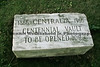 A centennial vault in Centralia, PA