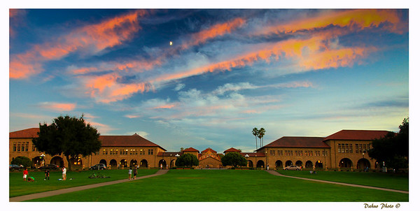 Stanford campus, on aug 27, 2009.