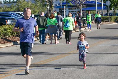 Girls on the Run's Cupcake Run, St. John's Town Center (photos: @brandihillcom)