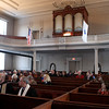 The Bulfinch Meeting House was named for its architect Charles Bulfinch. On Sunday in Lancaster the home of the First Church of Christ Unitarian celebrated its 200-year anniversary.