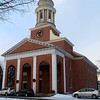 The Bulfinch Meeting House was rededicated during a ceremony on Sunday in Lancaster to recognize its 200-year history. SENTINEL & ENTERPRISE PHOTOS /VINCENT APPOLONIA