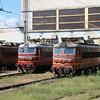45 147 & 44 105 at Varna Depot on 12th September 2014 (1)