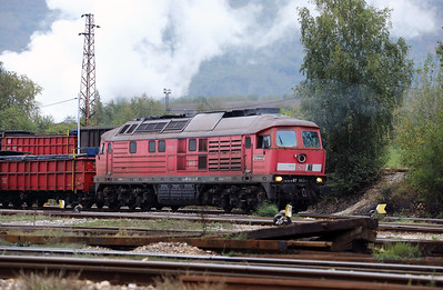 DB, 07 663 (92 52 1107 663-1 D-DB ex 232 663) at Pirdop on 28th September 2017 (3)