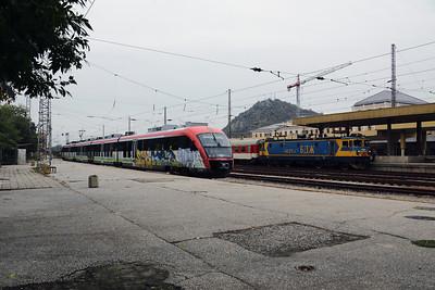31008 & 46211 at Plovdiv on 30th September 2017 (2)