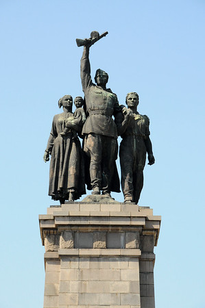 Bulgaria: Sofia: Monument to the Soviet Army 2014