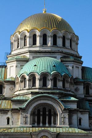 Bulgaria: Sofia: Saint Alexander Nevsky Cathedral Exterior 2014