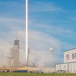 BulgariaSat1 by SpaceX - Pad Streak