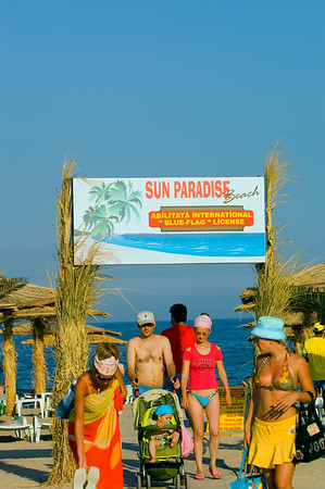 Europe, Romania, Black Sea Coast, Neptun Beach