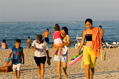 Europe, Romania, Black Sea Coast, Vama Veche , beach