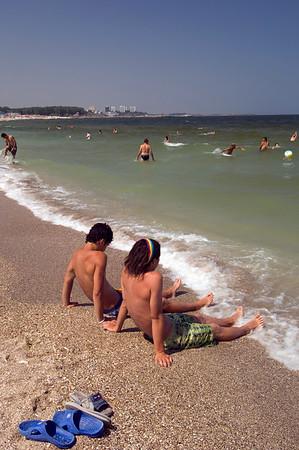Europe, Romania, Black Sea Coast, Jupiter beach