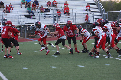 Bulldogs vs Leopards Scrimmage