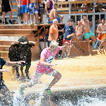 July 6, 2014 - Bous A La Mar (Bulls to the Sea) - Plaza de Toro - Denia, Spain during the 2014 Festa Major in honor of Santissma Sang (Most Holy Blood).