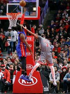 Pistons Bulls Basketball